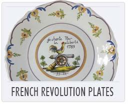 Quimper French Revolution Plates