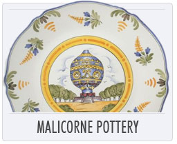 Quimper French Pottery Malicorne Pottery