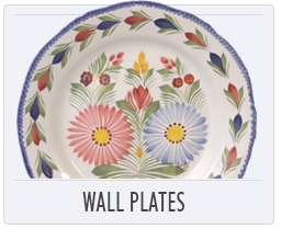 Quimper French Pottery Wall Plates