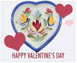 Valentine's Day Gifts Quimper French Pottery