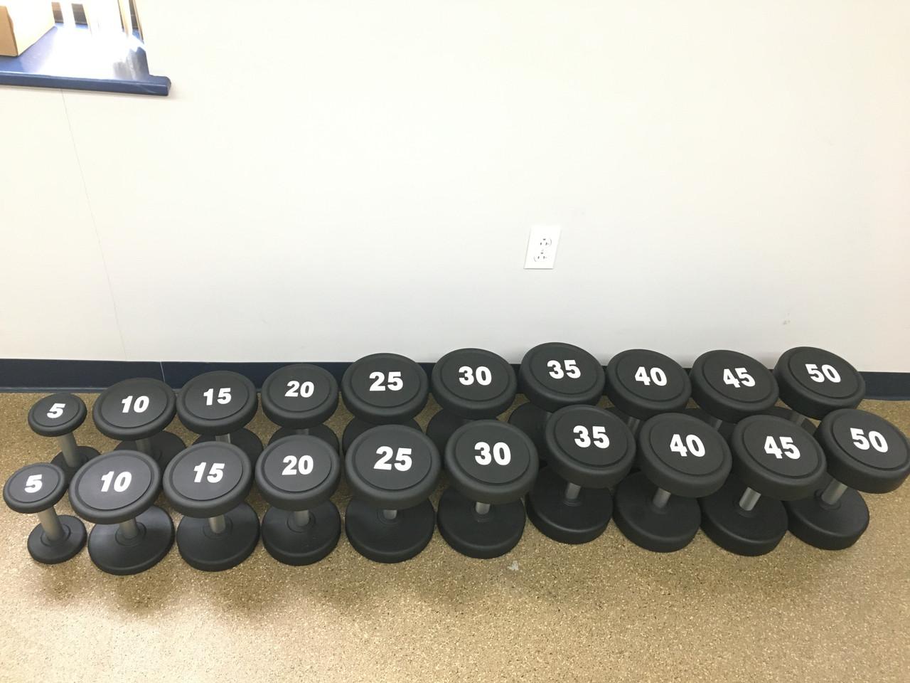 5-50 Dumbbell Set