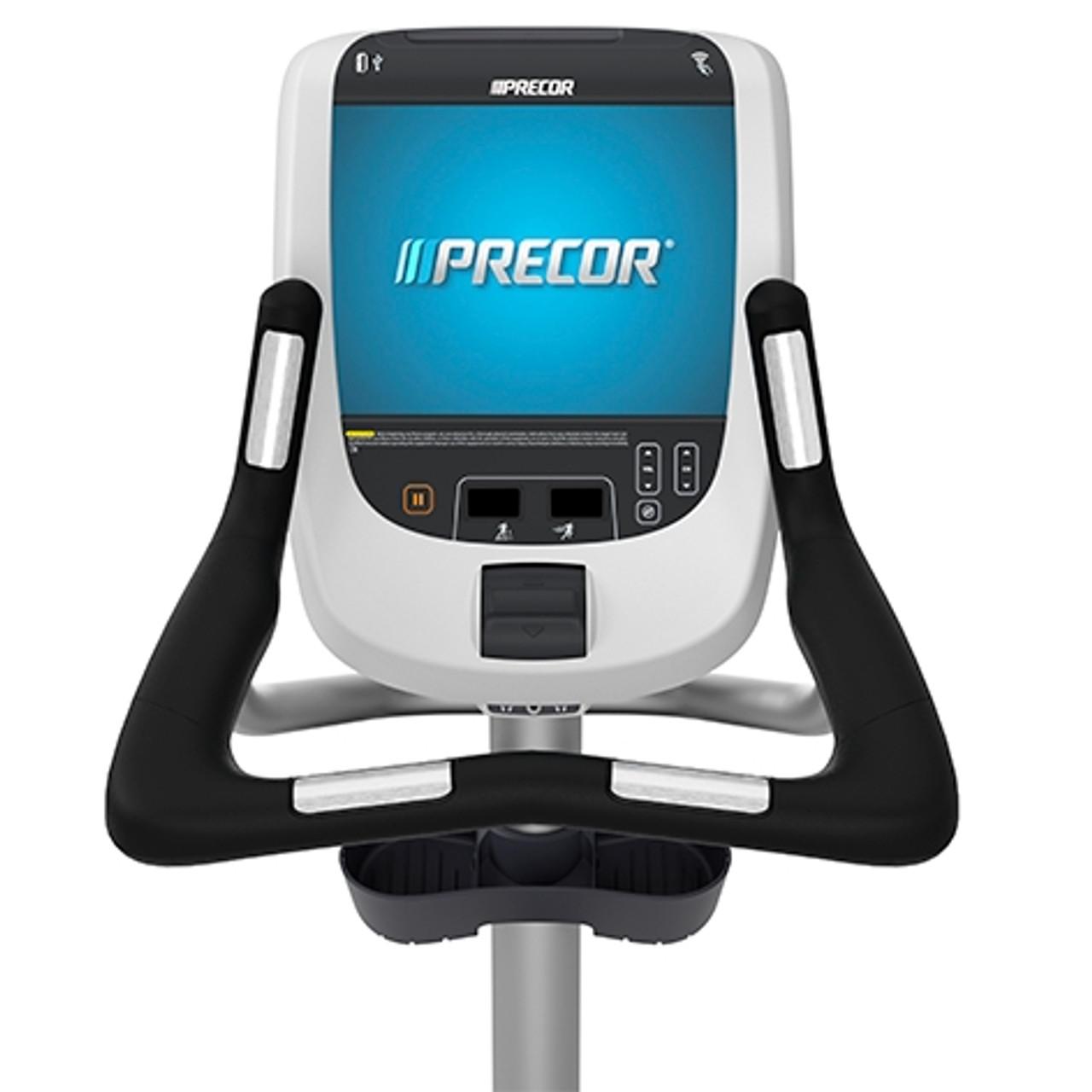 Precor UBK 885 Upright Bike w/P80 Console
