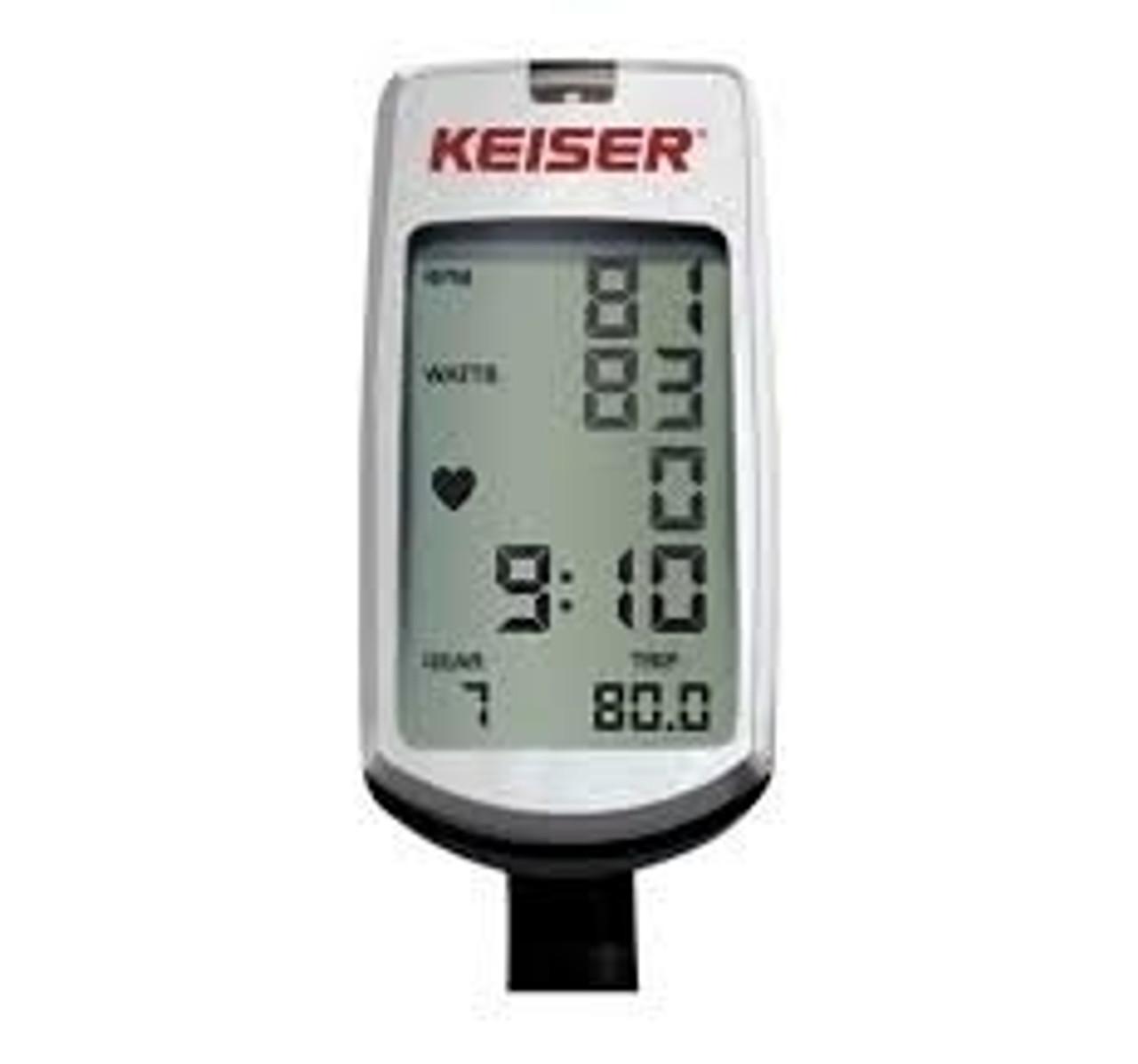 Keiser M3+ Indoor Cycle w/Computer