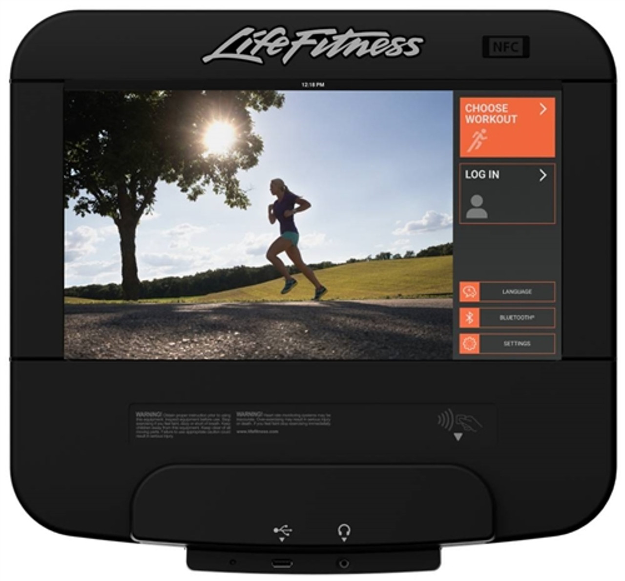Life Fitness Discover SE3 Elliptical Console