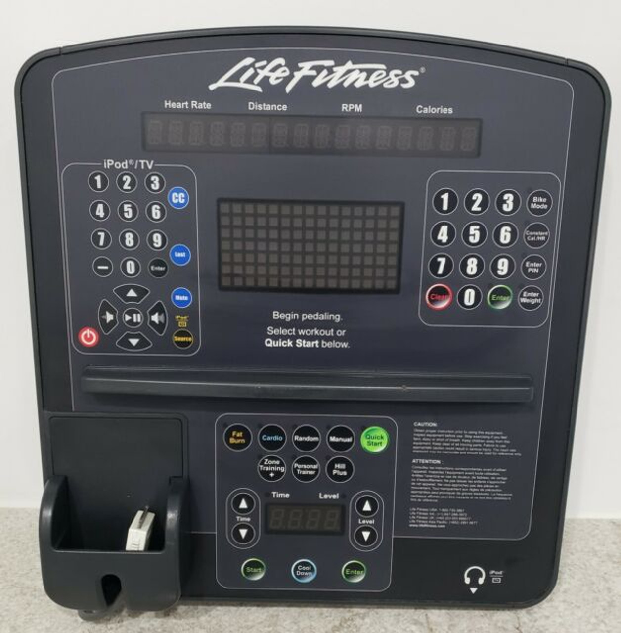 Life Fitness Integrity Series Console