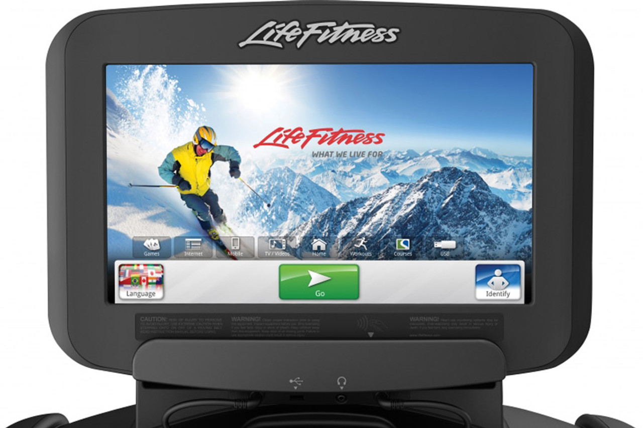 Life Fitness Elevation Discover SE Console