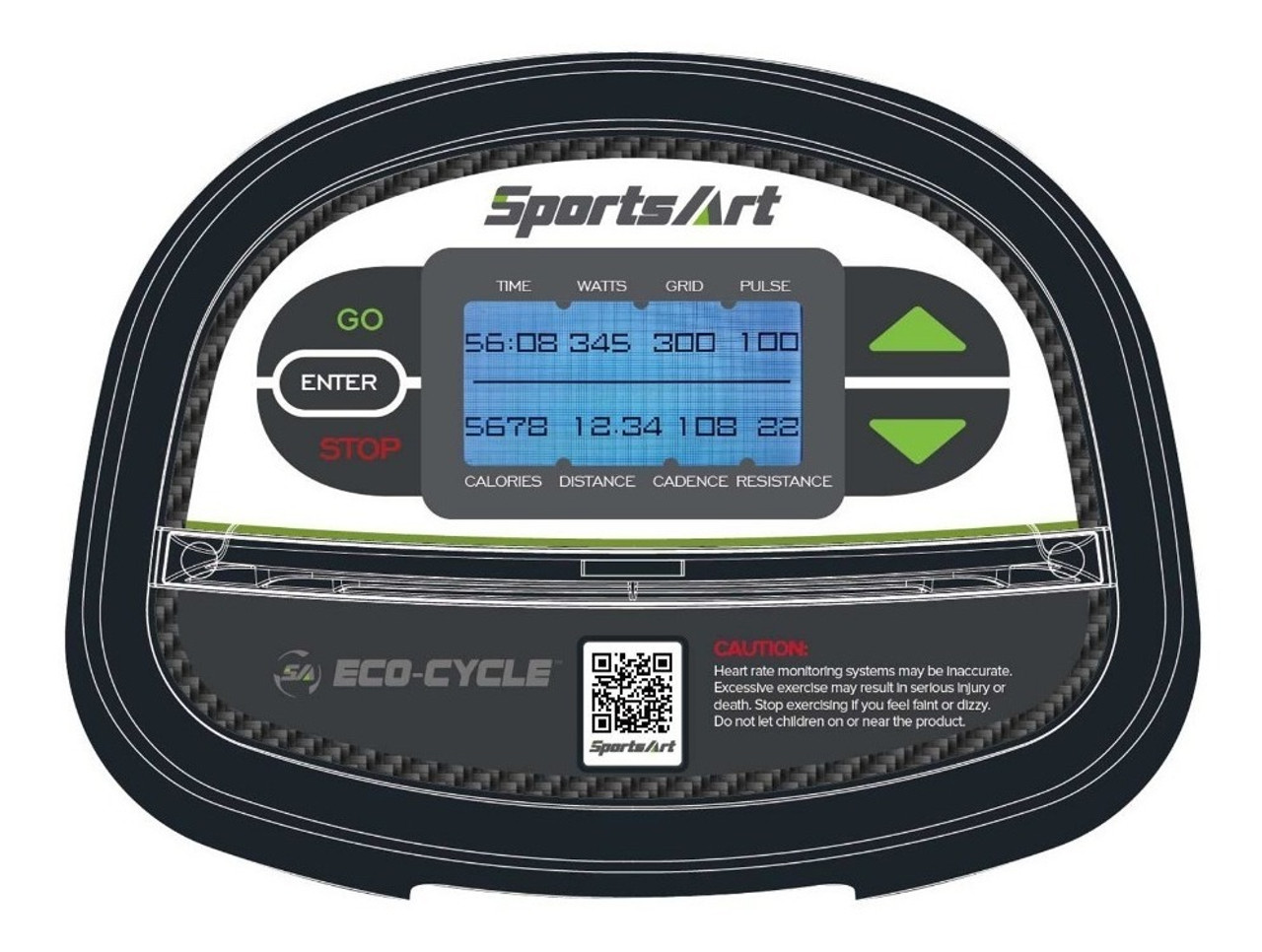 SportsArt G510 Indoor Cycle Eco Powr Console