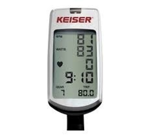 Keiser M3+ Indoor Cycle w/Computer