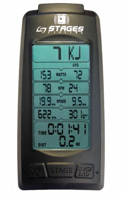 Stages SC3 Indoor Cycle Power Meter