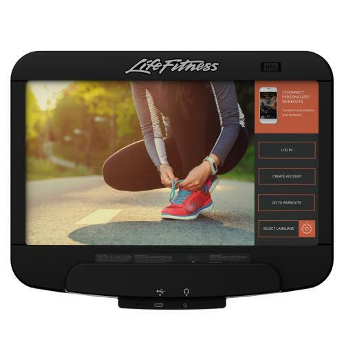 Life Fitness Discover SE3 Treadmill Console