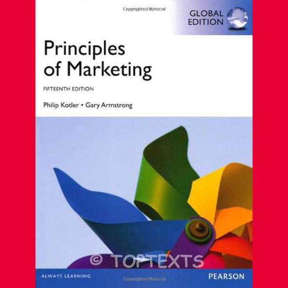 Principles of Marketing 15E, Philip Kotler and Gary Armstrong