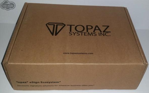 Topaz Systems Signature Pad LCD Capture Stylus - Serial USB - T-LBK766 BHSB-R