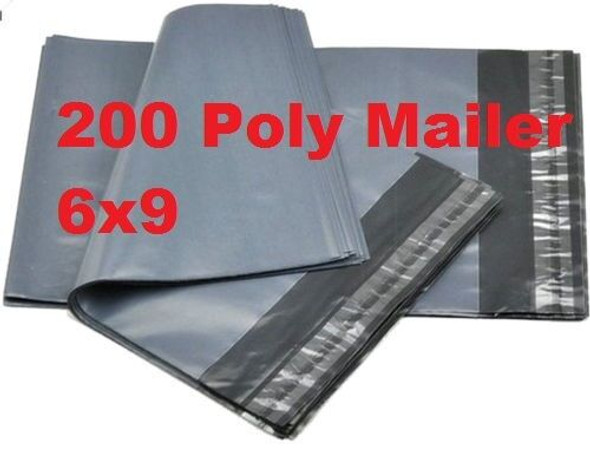 Poly Mailers Shipping Envelopes Self Sealing Bags and Packing Tape (Combo Pack)