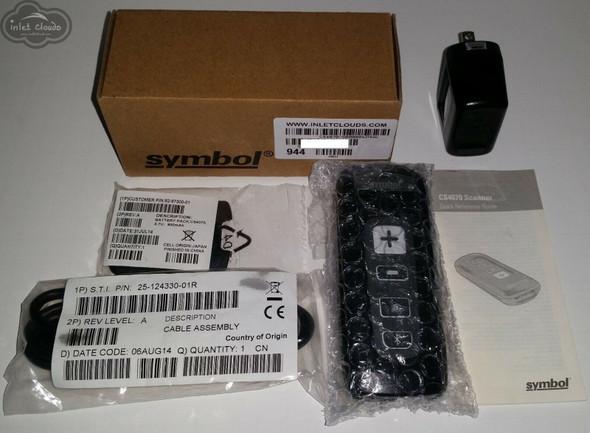 Symbol CS4070-SR00004ZMWW Barcode Scanner, 2D, Bluetooth