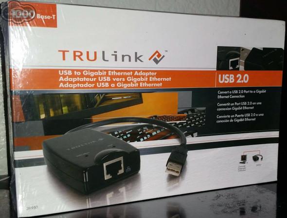 USB to Gigabit Ethernet Adapter (Sealed Pack) Trulink