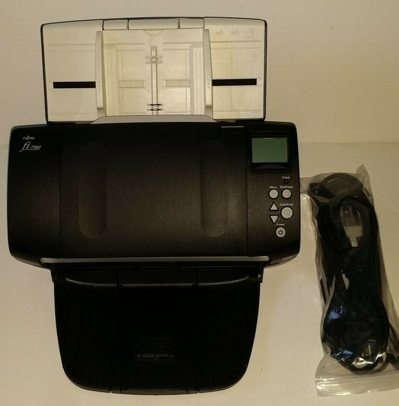 Fujitsu fi-7160 Color Scanner 600 DPI PA03670-B055 Page Count 147 Only