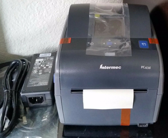 Intermec PC43D Direct Thermal Printer - Monochrome - Desktop - Label Print - 4.1