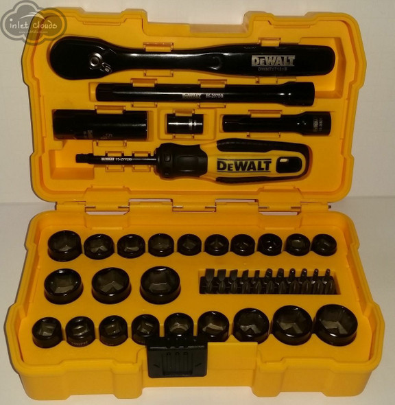 DeWALT DWMT81611 50 Piece Mechanics tool set
