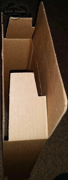 Cardboard Box 9x6x3 Packing Shipping Mailing Storage 25-Pack