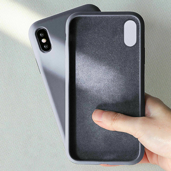 Shockproof Liquid Silicone Case Rubber Cover For iPhone XS