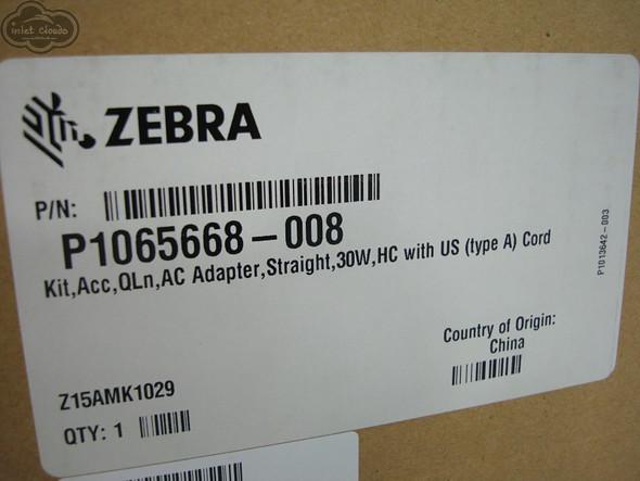 ZEBRA Genuine OEM AC Adapter for QLN Series Printers P1065668-008