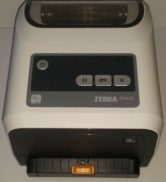 Zebra ZD420 300 dpi USB Ethernet Bluetooth Peeler Barcode Printer ZD42H43-C01E00EZ