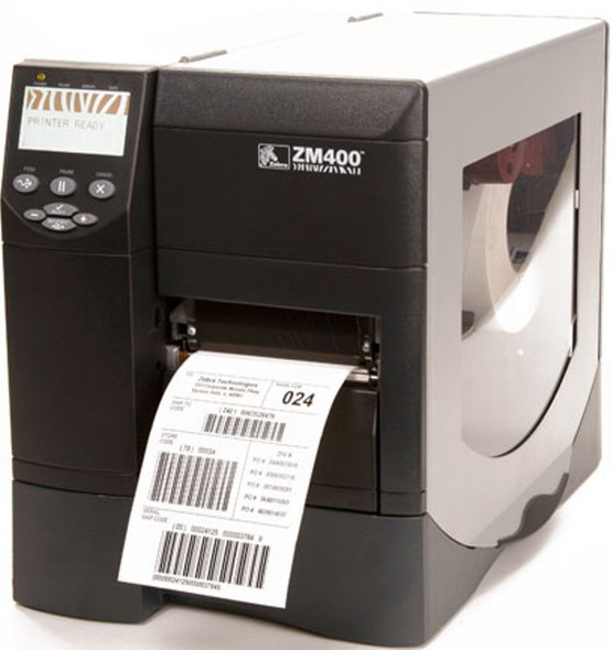 Zebra ZM400 Thermal Label Printer ZM46H-2001-0100T USB/Parallel/Serial/Network