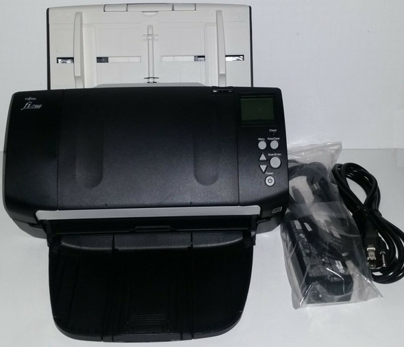Fujitsu fi-7160 Color Scanner 600 DPI PA03670-B055 Page Count 2967