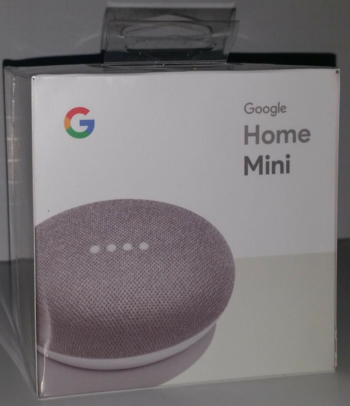 Google Home Mini in Chalk Smart Assistants (Factory Sealed)