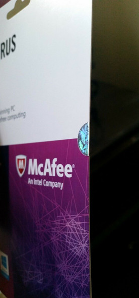 McAfee Anti virus