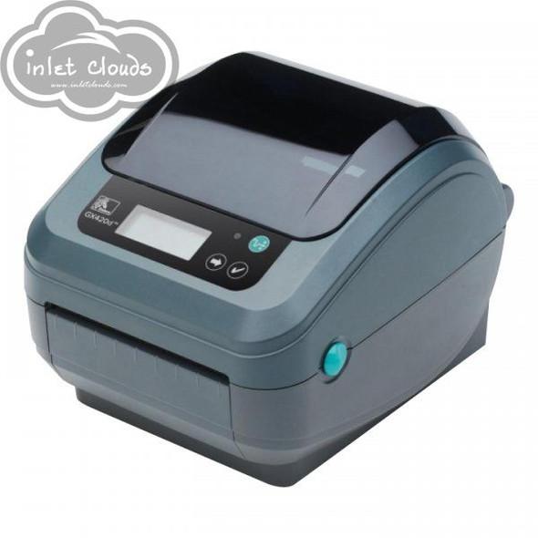 Zebra GX420D Desktop Thermal Printer GX42-202710-000 Wireless LCD