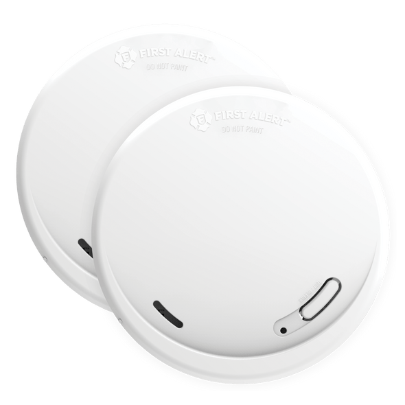 Smoke Alarm with 10-Year Battery Slim Photoelectric