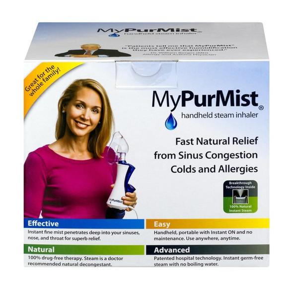 MyPurMist® Classic Handheld Steam Inhaler Humidifier Vaporizer