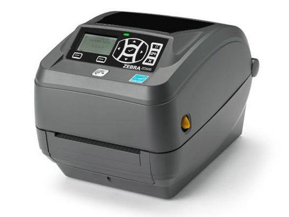Zebra ZD500 Thermal Printer with WiFi, Bluetooth & Ethernet PN: ZD50043-T01A00FZ-300dpi