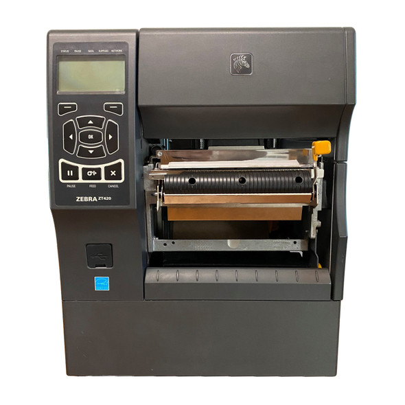 Zebra ZT420 Printer 300Dpi, USB, Bluetooth, LAN, Serial, Peeler, Re-winder Options ZT42063-T410000Z