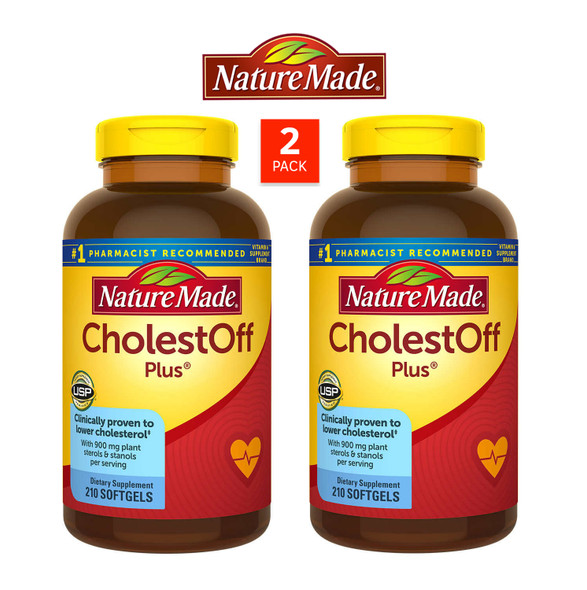 Nature Made CholestOFF Plus, 420 Softgels (2 Pack)