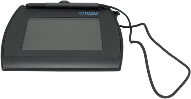 Topaz System SignatureGem LCD 4x5 Signature Pad T-LBK766-BHSB-R USB Serial