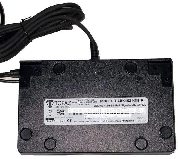 USB NEW ITB MSR TOPAZ TM-LBK57GC-HSB-R SigGem Signature Capture Pad