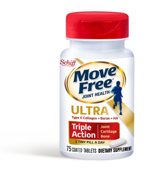 Move Free Ultra Triple Action Joint Supplement, 75 Tablets