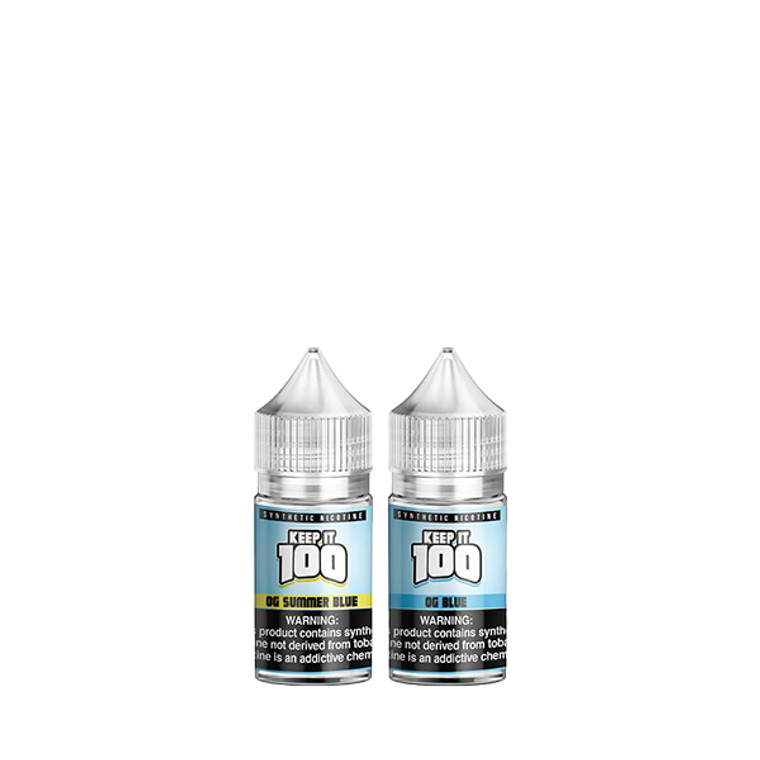 Keep It 100 Salts - 30ml (Synthetic Nic)