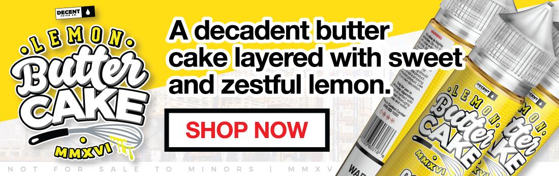 Decent Juice Co Wholesale E-Liquid Banner