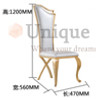 Ville chair with the sizes