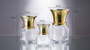 Glass Vase 10101 - High quality Gold ingot 19x29