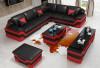 Ebikon L Shape - black & red
