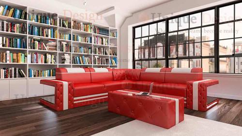 Brig Coner Sofa - multi LED color