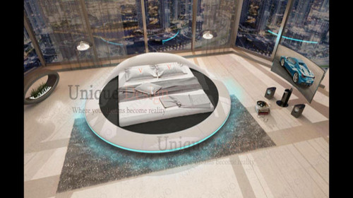 Eiger Round Bed - luminar