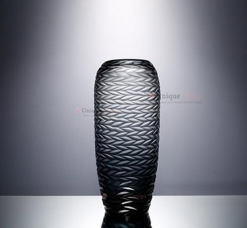 Glass Vase 21013 - Colored Frosted