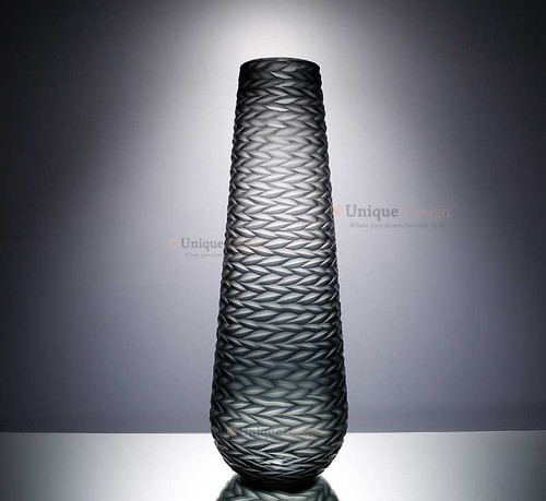 Glass Vase 21014 - Colored Frosted