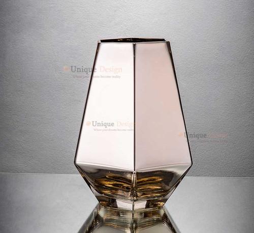 Glass Vase 57249 - Silver Glass