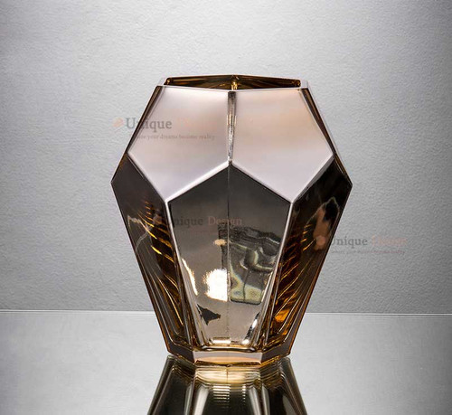 Glass Vase 57245 - Silver Glass